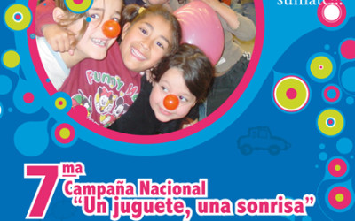 """7º Campaña Nacional """"Un juguete, una sonrisa"""""""