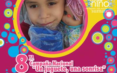 """8º Campaña Nacional """"Un juguete, una sonrisa"""""""