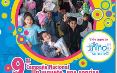 """9º Campaña Nacional """"Un juguete, una sonrisa"""""""
