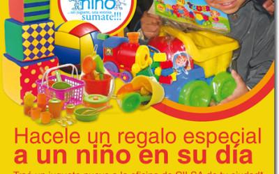 """12º Campaña Nacional """"Un juguete, una sonrisa"""""""