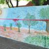 Mural inclusivo en el Jardín San Pablo