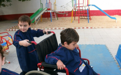 Taller vivencial sobre discapacidad