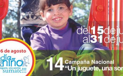 14º Campaña «Un juguete, una sonrisa»