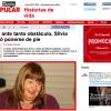 Silvia Carranza en Diario Popular