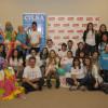 Encuentro solidario en Staples junto a Florencia Otero