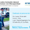 Taller sobre inclusión laboral en Enersol