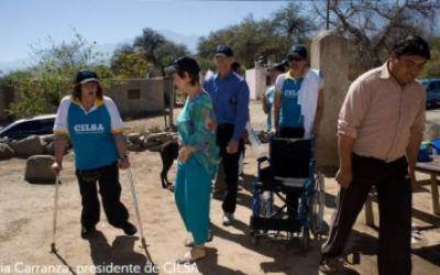 Silvia Carranza, un ejemplo de superación personal e inclusión social