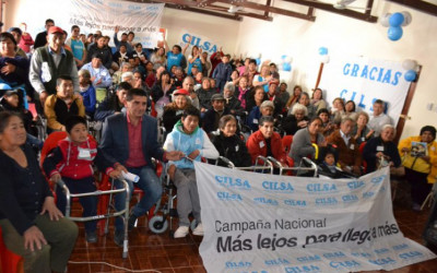 CILSA regresó a Jujuy y entregó sillas de ruedas a 150 personas
