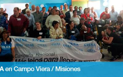 CILSA entregó sillas de ruedas en Campo Viera