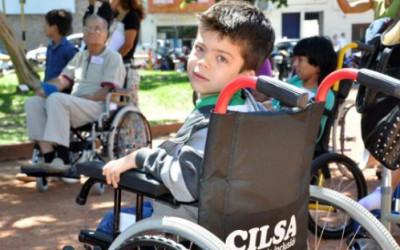 «La silla de ruedas brinda dignidad, igualdad y libertad»