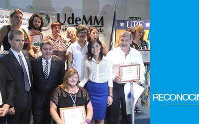 """Silvia Carranza recibió el Premio """"Voluntariado y Bien Común"""""""