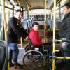 Inclusión en el transporte público