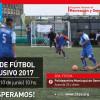 2da. fecha de la Liga de fútbol inclusivo