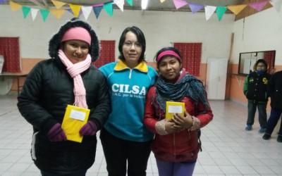 Concurso por el mes del libro en el hogar San Miguel