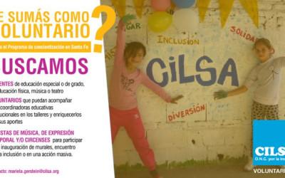 Santa Fe: Convocatoria abierta a voluntarios