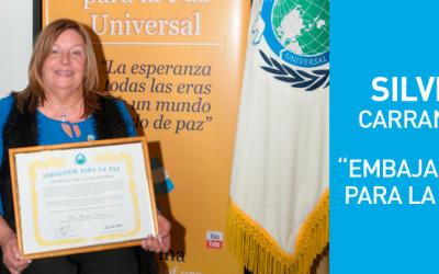"Designaron ""Embajadora para la Paz"" a la Presidenta de CILSA"