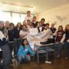 Preparación y acto de entrega con alumnos de la Escuela Italiana