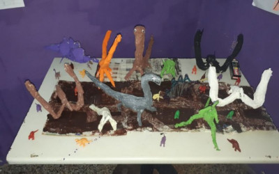 Taller sobre dinosaurios