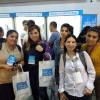 Participantes de POETA en la Feria de Empleo Joven