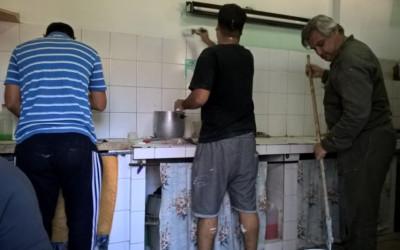 Voluntarios de la IJSUD en Morón