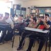 Charla y taller en la Escuela Martínez Leanez