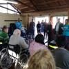 Encuentro comunitario en el Polideportivo Biritos