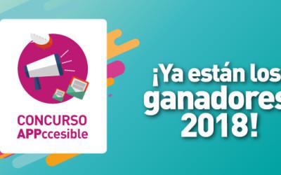 Concurso Appccesible: Premio a tres desarrollos que mejoran la calidad de vida de personas con discapacidad