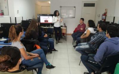ASORUM visitó los talleres de búsqueda laboral