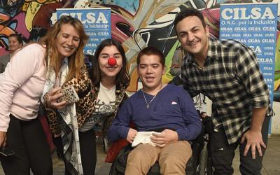 Diego Topa brindó su granito de arena en evento solidario de CILSA