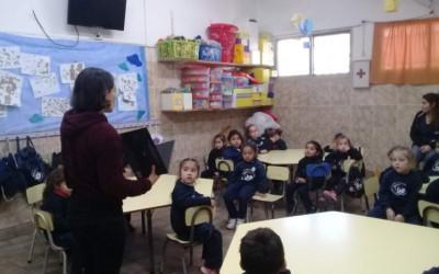 Charlas y cuentos en la Escuela Santa Isabel de Hungría