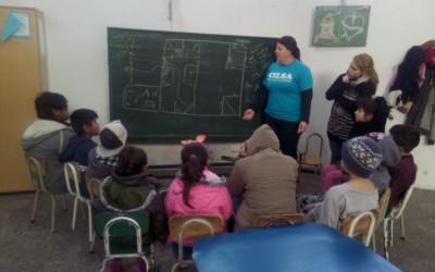 Taller de educación inclusiva en el Hogar Chicos del Suroeste