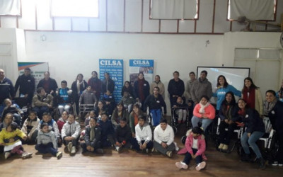 Entrega solidaria en Villaguay