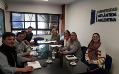 Acciones conjuntas con la Universidad Atlántida Argentina
