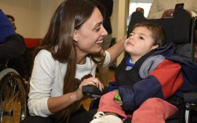 CILSA entregó 42 elementos ortopédicos de forma gratuita junto a Martina Gusmán