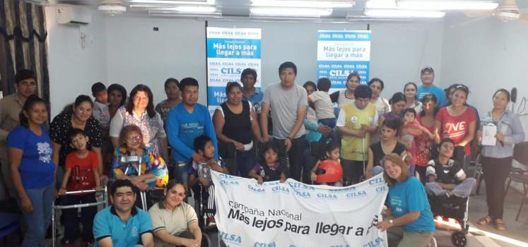 CILSA regresó a Formosa para entregar más de 100 elementos ortopédicos gratuitos