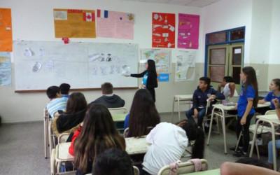CILSA visita el IPEM N° 198 de Córdoba