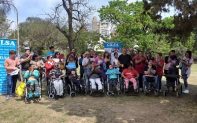 Se entregaron 14 sillas de ruedas en Córdoba