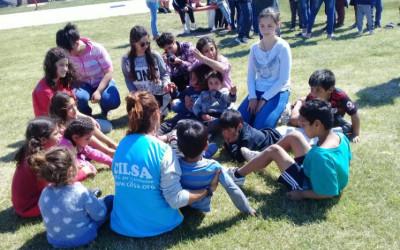 Alumnos de escuelas visitan hogar de día de CILSA
