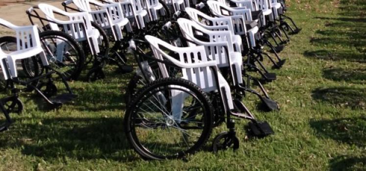 CILSA entregó más de 200 sillas de ruedas de traslado a hospitales e instituciones públicas