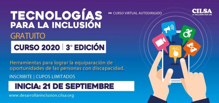 3° edición de «Tecnologías para la inclusión»