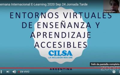 X Semana Internacional E-Learning: Presente y Futuro de la Formación Virtual