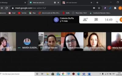 Nuevo encuentro con alumnas de la UCA sede Rafaela