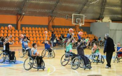 Básquet sobre silla de ruedas: punto de partida