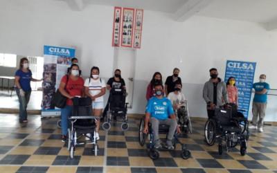 Córdoba: en el primer acto del año se otorgaron 17 elementos ortopédicos