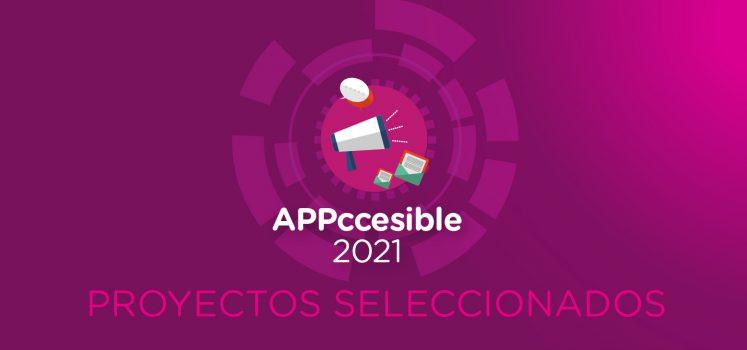 Appccesible 2021: se conocieron los proyectos a testear