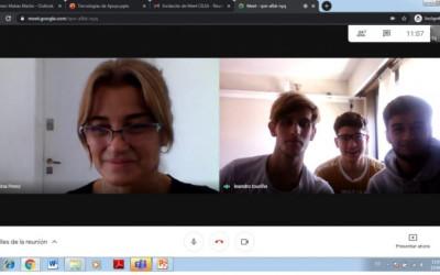 Charla sobre inclusión con alumnos de la Escuela Sarmiento
