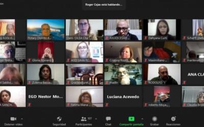Rotarios charlaron sobre discapacidad e inclusión
