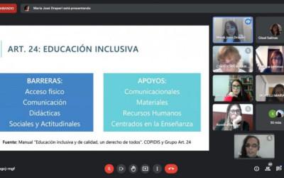 Educación inclusiva: discapacidad y diversidad funcional
