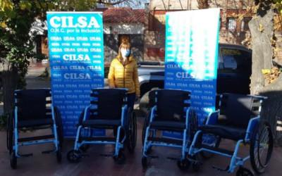CILSA entregó sillas de ruedas al Hospital Sicoli