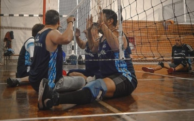 Carlos Gonzalez concentró con la Pre selección de Vóleibol Sentado